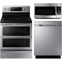 Samsung 3 Pc. Stainless Kitchen Package - SAM3PCSTKIT - IN STOCK