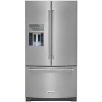 Kitchen Aid KRFF507ESS 26.8 Cu. Ft. Stainless French Door Refrigerator - KRFF507ESS - IN STOCK