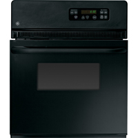 G.E. JRS06BJBB 24 in. Black Single Wall Oven - JRS06BJBB - IN STOCK