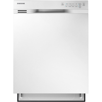 Samsung DW80J3020UW White Front Control Dishwasher with Stainless Steel Tub - DW80J3020UW - IN STOCK