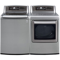 LG Graphite High Efficiency Top Load Washer/Dryer Pair  - WT5680VEPR - IN STOCK