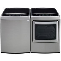 LG Graphite High Efficiency Top Load Washer/Dryer Pair  - WT1701VEPR - IN STOCK