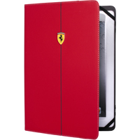 CG Mobile Ferrari Universal Case Red Carbon pro Tablet 9-10 in. - FEFORUT10RE - IN STOCK