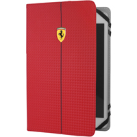 CG Mobile Ferrari Universal Case Red Carbon pro Tablet 7-8 in. - FEFOCUT8RE - IN STOCK