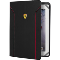CG Mobile Ferrari Universal Case Black Carbon pro Tablet 7-8 in. - FEDA2IUT8BL - IN STOCK