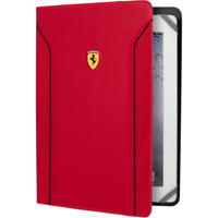 CG Mobile Ferrari Universal Case Red Carbon pro Tablet 9-10 in. - FEDA2IUT10RE - IN STOCK