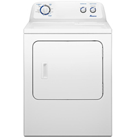 Amana NED4705EW Electric 7 Cu. Ft. White Top Load Dryer - NED4705EW - IN STOCK