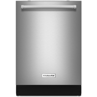 Kitchen Aid KDTE104ESS 46dB Stainless Dishwasher with Hidden Controls & Stainless Tub - KDTE104ESS - IN STOCK