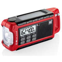 Midland Compact Emergency Crank with Radio - ER200 - IN STOCK
