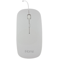 iHome iHome Optical Mouse for Mac, White - IMACM210W - IN STOCK