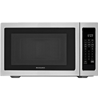 Kitchen Aid KCMS1655BSS 1.6 Cu. Ft.1200W Stainless Countertop Microwave - KCMS1655BSS - IN STOCK