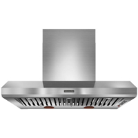 Kitchen Aid KXW9748YSS 48 in. Stainless Wall Mount Canopy Commercial Style Hood - KXW9748YSS - IN STOCK