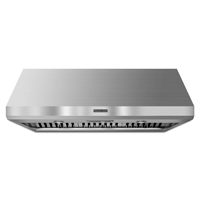 Kitchen Aid KXW8748YSSV 48 in. Stainless Wall Mount Commercial Style Hood - KXW8748YSS - IN STOCK