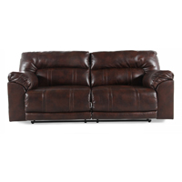 Ashley Signature Design Barrettsville Chocolate  Reclining Sofa - 4730181 - IN STOCK