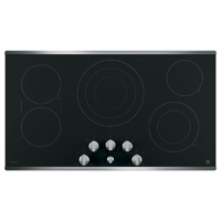 G.E. PP7036SJSS 36 in. Stainless 5 Burner Electric Cooktop - PP7036SJSS - IN STOCK