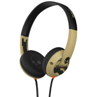 Skull Candy Uprock Micd On-Ear Headphones with Mic (Camo/Slate) - S5URGY371 - IN STOCK