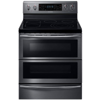 Samsung NE59J7850WG 5.9 Cu.Ft. Black Stainless 5 Burner Flex-Duo Range - NE59J7850WG - IN STOCK