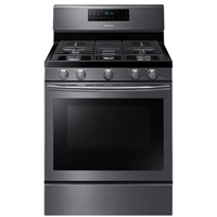 Samsung NX58J5600SG 5.8 cu. ft. Black Stainless 5 Burner Freestanding Gas Range - NX58J5600SG - IN STOCK