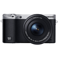 Samsung 28MP Interchangable Lens Camera with 16-50mm Power Zoom Lens and Flash  - NX500 - IN STOCK