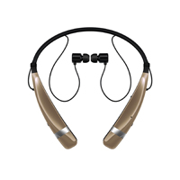 LG Tone Pro Bluetooth Wireless Stereo Headset (Gold) - HBS760GLD - IN STOCK