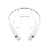 LG Tone Pro Bluetooth Wireless Stereo Headset (White) - HBS760WHT - IN STOCK