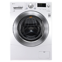 LG WM1377HW 2.3 cu. ft. Large Capacity 24� Front Load Washer - WM1377HW - IN STOCK