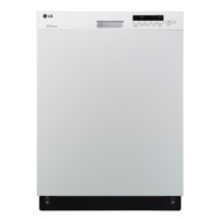LG LDS5040WW White Front-Control Stainless Tub Dishwasher  - LDS5040WW - IN STOCK