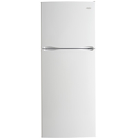 Danby DFF123C1WDB 12.3 Cu. Ft. White Top Mount Refrigerator - DFF123C1WDB - IN STOCK