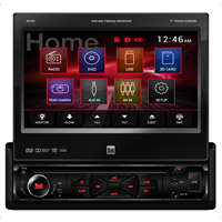 Dual DVD Receiver with 7 in. Touch Screen Display - DV705 - IN STOCK
