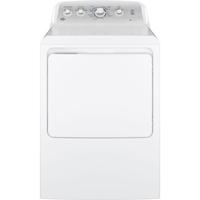 G.E. GTD45EASJWS Electric 7.2 Cu.Ft. White High Efficiency Top Load Dryer - GTD45EASJWS - IN STOCK