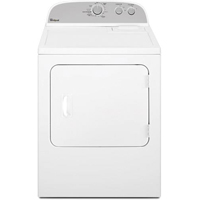 Whirlpool WED4810EW Electric 7 Cu.Ft. White Top Load Dryer - WED4810EW - IN STOCK