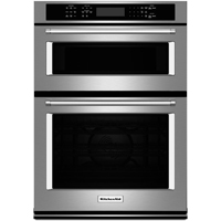 Kitchen Aid KOCE507ESS 27 in. Stainless Convection Wall Oven / Microwave Combo - KOCE507ESS - IN STOCK