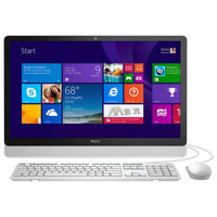 Dell Inspiron 23.8 in. Touchscreen, AMD E2-7110, 4GB RAM, 1TB Hard Drive, Windows 10 All-in-One - I34556042WHT - IN STOCK