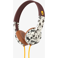 Skull Candy Uproar Tap and Go On-ear Headphone with Mic (Animal) - S5URHT452 - IN STOCK