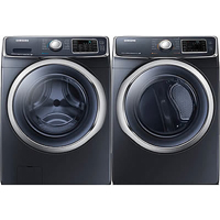 Samsung Onyx Front Load Washer/Dryer Pair - WF45H6300GPR - IN STOCK