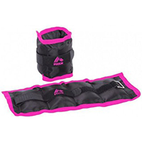 RBX 2 Lb 2 Pound Ankle Wrist Weights - Pink - RFA1002P - IN STOCK