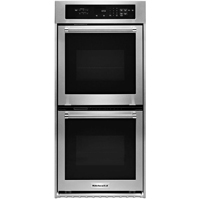 Kitchen Aid KODC304ESS 24 in. Stainless Double Convection Wall Oven - KODC304ESS - IN STOCK