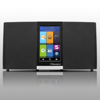Aluratek WiFi Internet Radio with LCD Touchscreen Display - AIRMM03F - IN STOCK