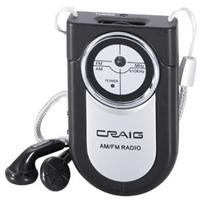 CRAIG Portable Pocket Radio - CR4116 - IN STOCK