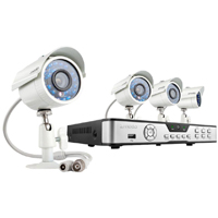ZModo 4CH 960H Real-Time H.264 DVR with 1TB HDD & 4 700TVL Outdoor IR Security Cameras - ZMB4Y41T - IN STOCK
