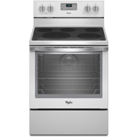 Whirlpool WFE540H0EH 6.4 Cu.Ft. White Ice 5 Burner Freestanding Range - WFE540H0EH - IN STOCK