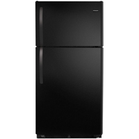 Frigidaire FFTR1514RB 14.6 Cu.Ft. Black Top Freezer Refrigerator - FFTR1514RB - IN STOCK