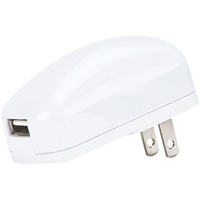 Gecko Single USB AC Wall Charger - White - GG5000005 - IN STOCK