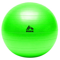 RBX Fitness Ball and Hand Pump - Green - RFY4002E - IN STOCK