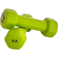 RBX 2 pack of 2lb Hand Weights - Green - RFY4004E - IN STOCK