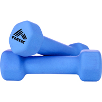 RBX 2 pack of 2lb Hand Weights - Blue - RFY4004N - IN STOCK