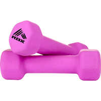 RBX 2 pack of 2lb Hand Weights - Pink - RFY4004P - IN STOCK