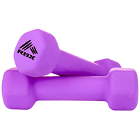 RBX 2 pack of 2lb Hand Weights - Purple - RFY4004U - IN STOCK