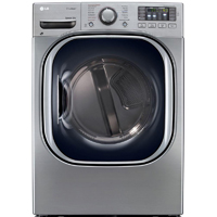 LG DLGX4271V Gas 7.4 Cu.Ft Graphite Steel Front Load Steam Dryer - DLGX4271V - IN STOCK