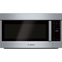 Bosch 500 Series HMV5052U 2.1 Cu.Ft. Stainless Over-the-Range Microwave Oven - HMV5052U - IN STOCK